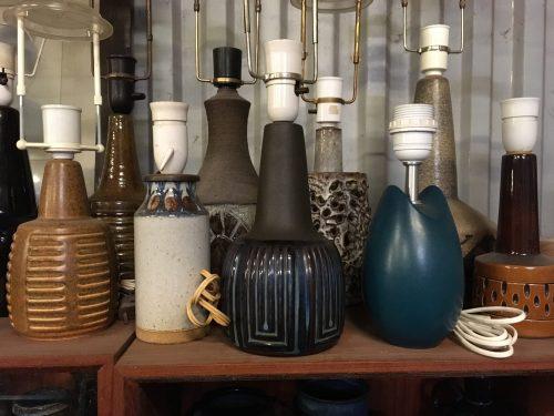 Gulv- og bordlamper