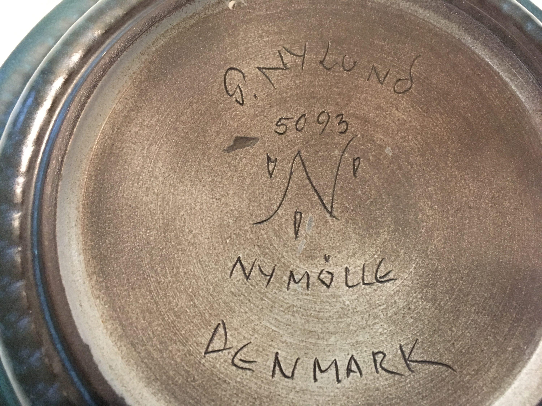 nymølle keramik Skål fra Nymølle Keramik, Gunnar Nylund   AntikRetroDesign nymølle keramik